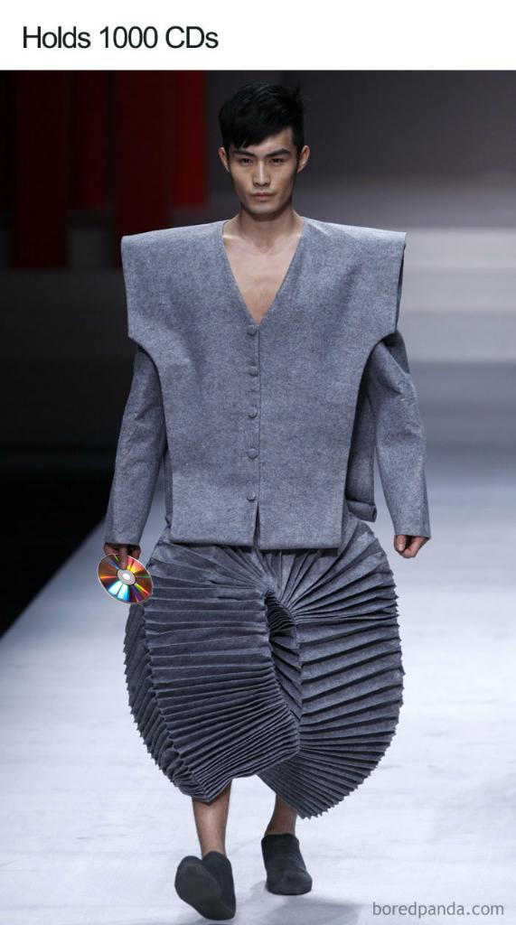 Pakaian Dari Atas Sampai Bawah Lagi Ngtren Tapi Terlihat Nyeleneh! Gimana Bentuknya?