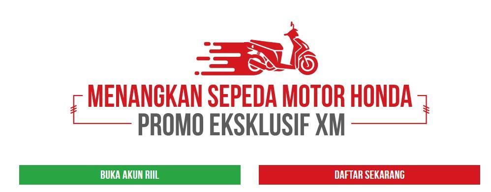 Promo Terbaru XM Februari 2020 Trading Berhadiah Sepeda Motor Honda ADV 150
