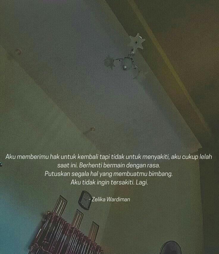 [LOVE LETTER 4] Jadikan Aku Bidadari Surgamu