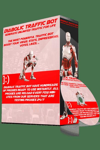 Diabolic Traffic Bot v7.10 Cracked Nulled 2020