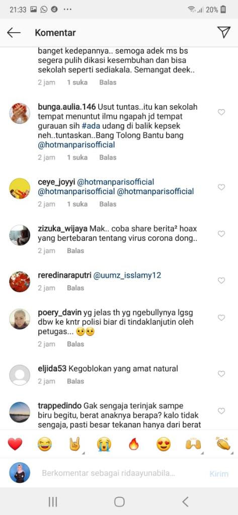 """Ketika"" Kasus Bullying SMPN 16 Kota Malang Dianggap Percandaan Diseriusi Polisi"