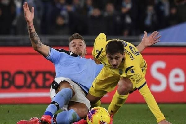 Ditahan Verona, Lazio Gagal Naik ke Posisi Kedua Geser Inter Milan