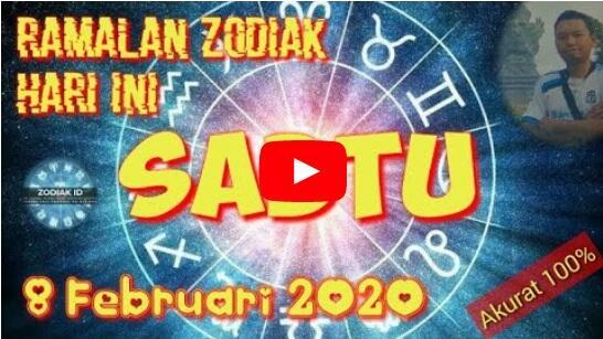 RAMALAN ZODIAK KAMU BESOK, SABTU 8 FEBRUARI 2020, BAKAL UNTUNG LHO!
