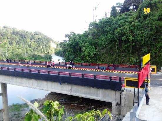 Kementerian PUPR Bangun Jembatan Manula, Hubungkan Bengkulu-Lampung