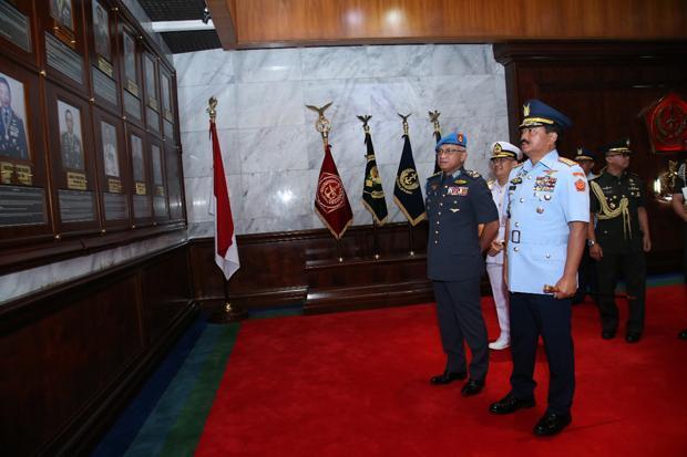 Panglima TNI Terima Kunjungan Kehormatan Panglima ATM