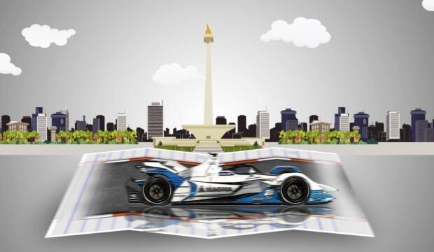 Penyelenggara Formula E Butuh Waktu Seminggu Putuskan Rute Baru