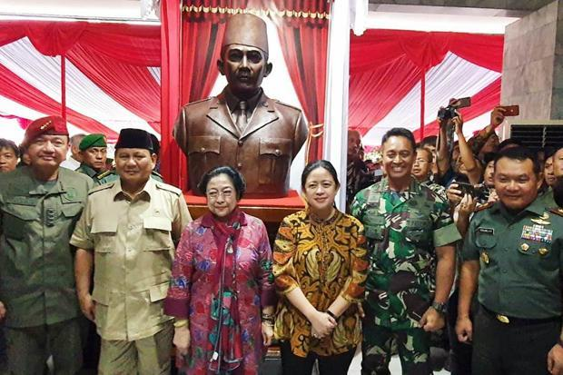 Megawati, Prabowo, Puan, hingga Hasto Datang ke Akmil Magelang