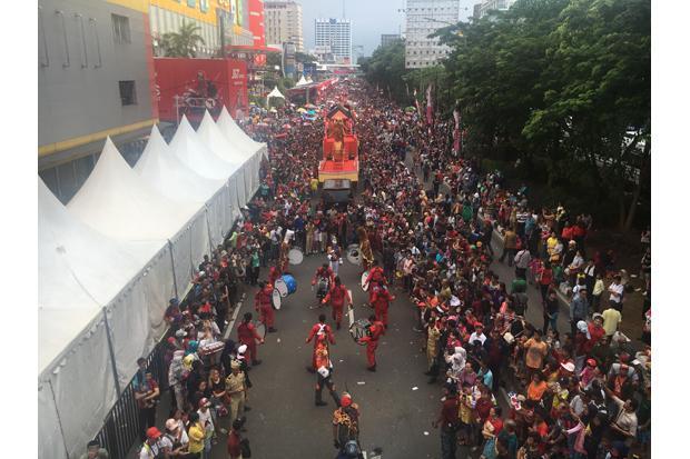 Pemprov DKI Gelar Puncak Perayaan Cap Go Meh di CFD Thamrin