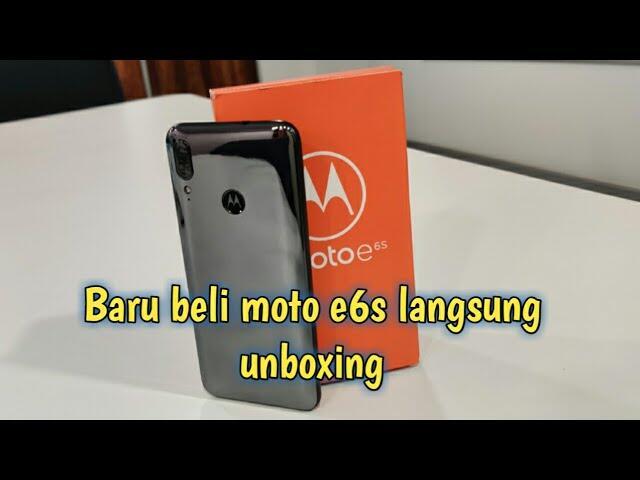 Unboxing Motorola E6s