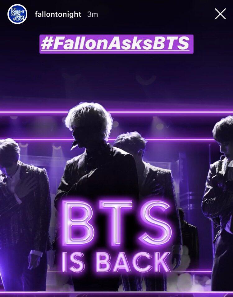 BTS Hadir di 'The Tonight Show Starring Jimmy Fallon' & 'SBS Super Concert in Daegu'