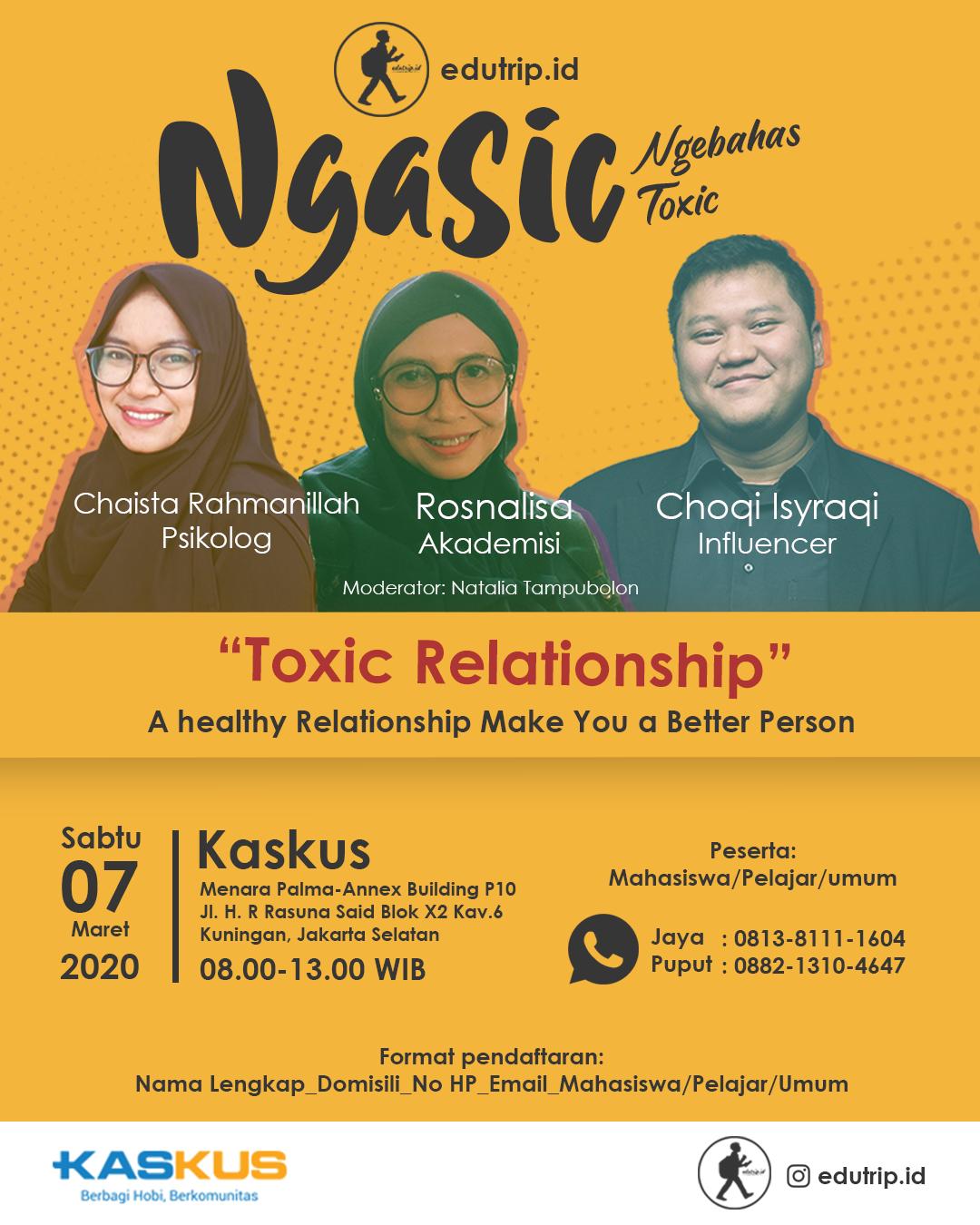 Talk Show Toxic Relationship