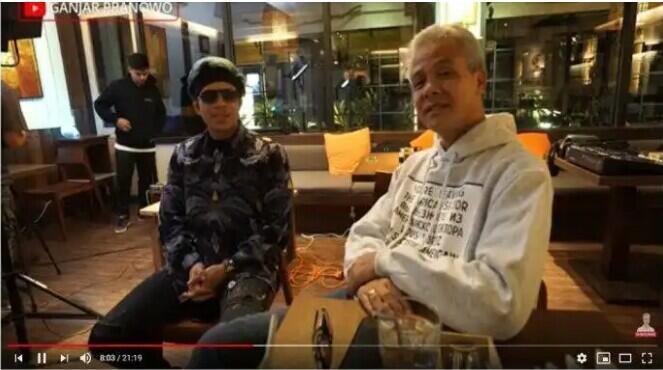 Atta Halilintar Ungkap Caranya Buat Konten, Ganjar Pranowo : Kayak Politisi