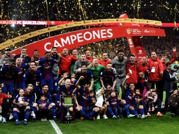Barcelona dan Tiga Tim Unggulan Lain Gagal ke Semifinal Copa Del Rey