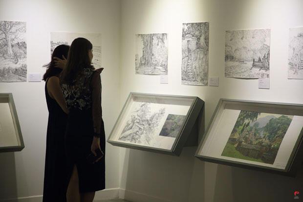 Melihat Hangatnya Persahabatan Indonesia-Rusia Melalui Goresan Kuas Seniman