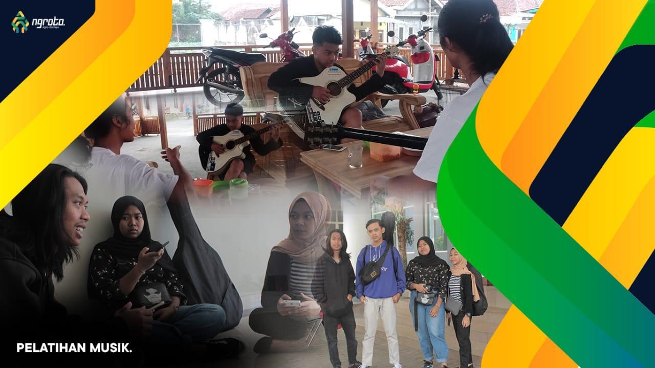 Upgrade skill Jamming gitar Pada Masyarakat Indonesia