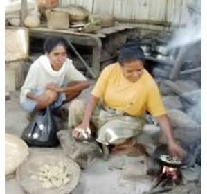 Titi Jagung, Cara Lestarikan Pangan Lokal Di Desa Adobala