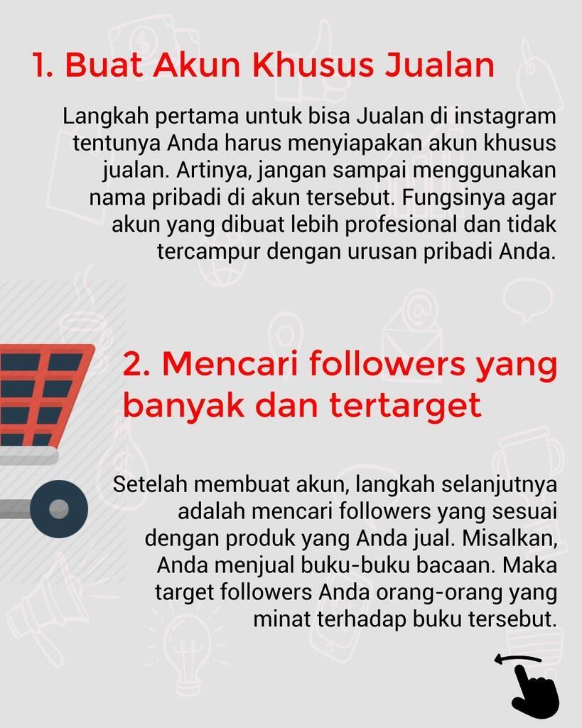 10 Tips Jitu Laris Jualan di Instagram Bagi Pemula [InfoGraphic]