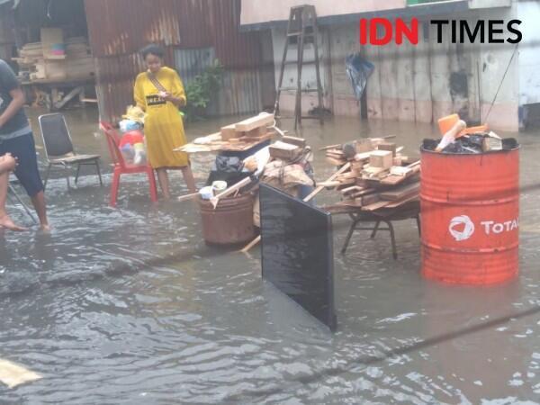 Banjir Sempat Rendam Vila Nusa Indah Bogor, tapi Air Kini Mulai Surut