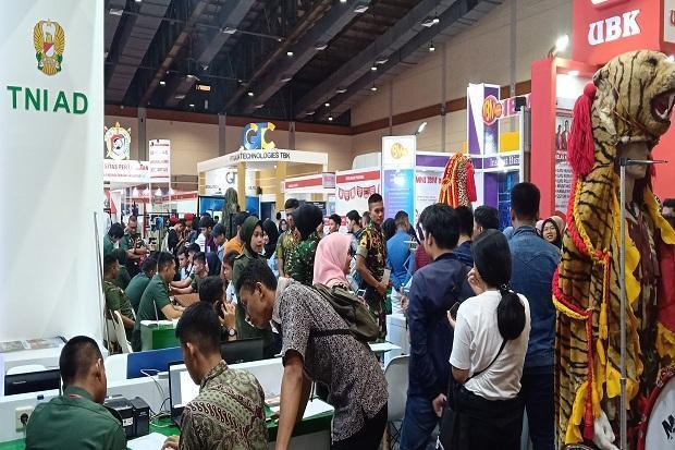 Ikuti Edutex 2020, TNI AD Beri Informasi Akurat Soal Rekrutmen Prajurit
