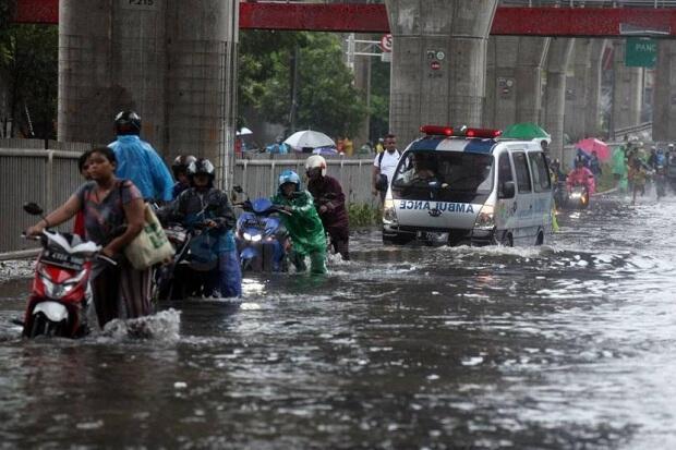 23 Kecamatan di Jakarta Terdampak Banjir, 2.867 Jiwa Mengungsi