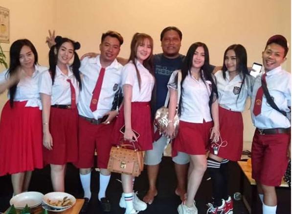 Duh, Nella Kharisma Pakai Seragam SD, Netizen Gagal Fokus