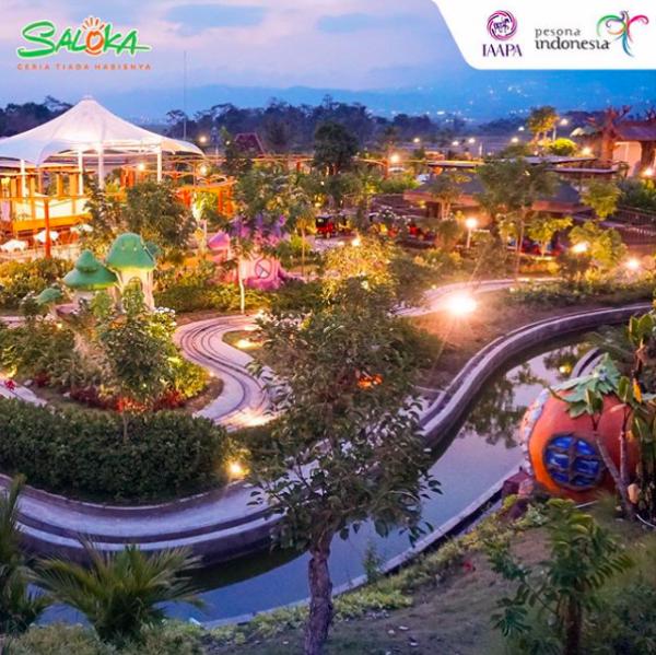 10 Potret Saloka Theme Park, Taman Bermain Terbesar di Jawa Tengah!