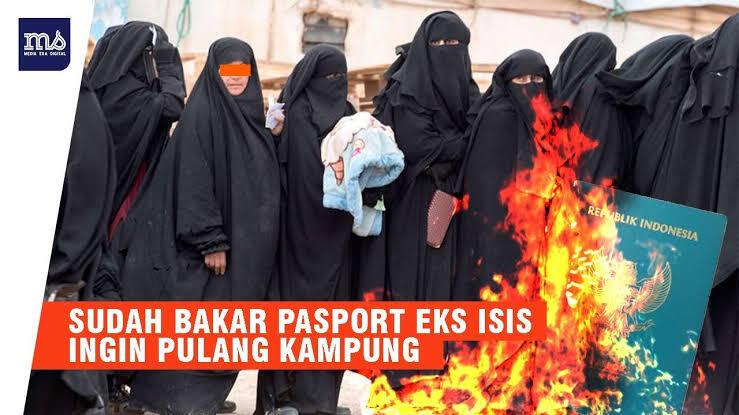Syarat Ini Harus Dipenuhi WNI Eks ISIS Kalau Mau Pulang ke Tanah Air