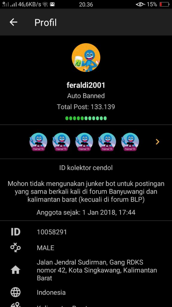 Neo_Boys yang Lakukan Abuse of Power Banned ID feraldi2001