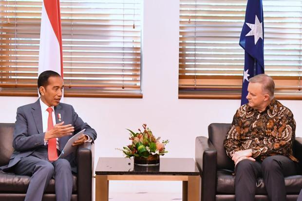 Di Australia, Jokowi Disambangi Petinggi Partai Oposisi