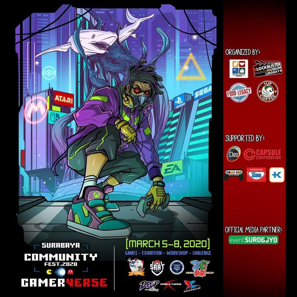 """Surabaya Community Fest 2020 """"GamerVerse"""""""