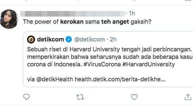Kerokan dan Teh Anget, Kombinasi Penangkal 'Virus Corona' Versi Netizen