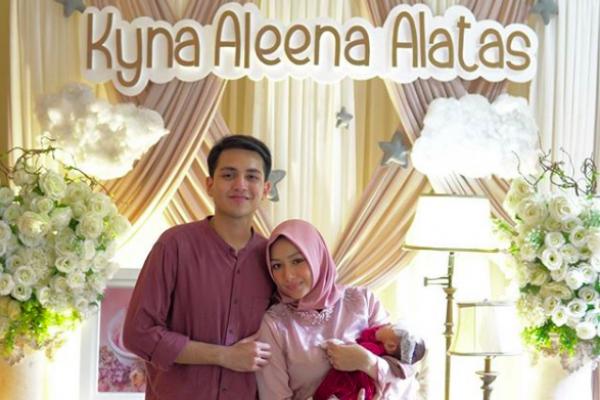 10 Momen Akikah Baby Kyna, Puteri Adzana Bing Slamet dan Rizky Alatas