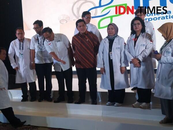 Holding Rumah Sakit Ditarget Erick Thohir Raup Pendapatan Rp8 Triliun