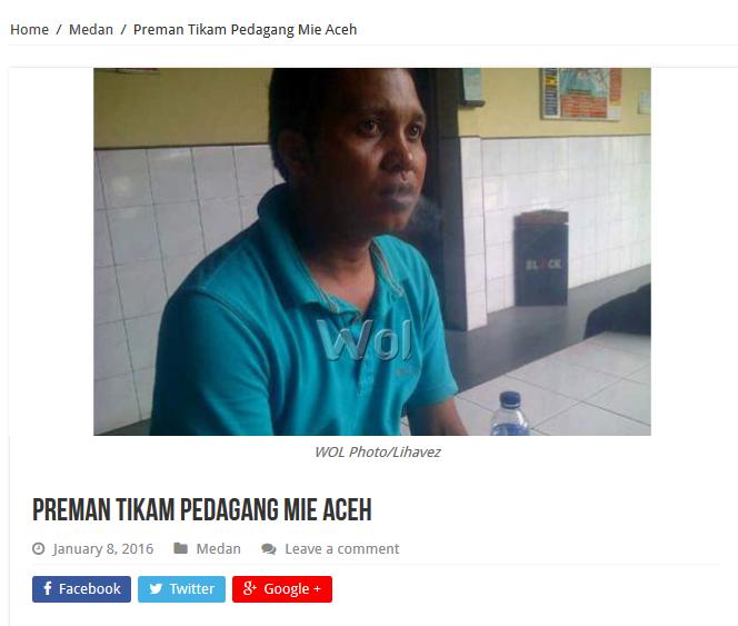 Balada 3 Penjual Mi Aceh di Medan, Terjerat Hukum Setelah Berduel dengan Preman