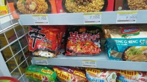 Nyobain Mie Asal Korea, Beli Di Mini Market Deket Rumah Nih Gan
