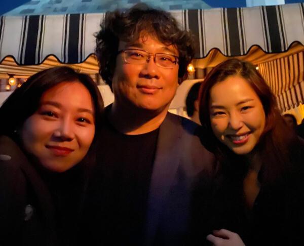 Datang ke After Party 'Parasite,' Lee Hanee dan Gong Hyo Jin Dianggap Cuma Pansos