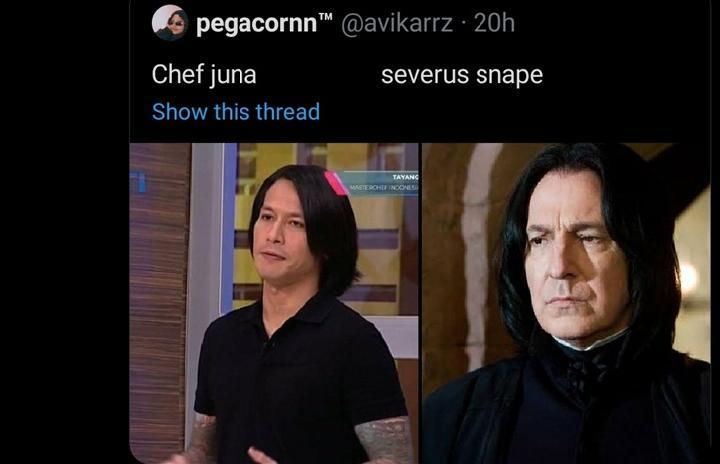 Rambut Baru Chef Juna Mendadak Viral, Mirip Siapa?