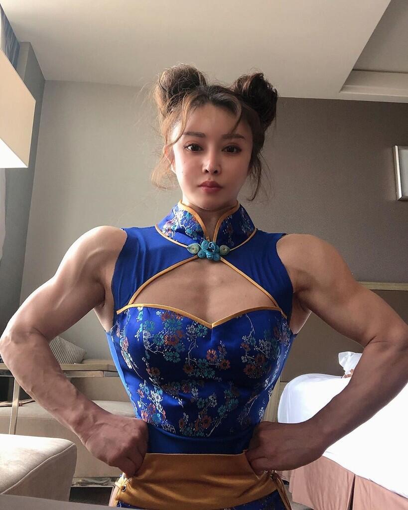 Dokter Cantik Mirip 'Chun-Li' Ini Ikut Bertarung Melawan Virus Corona