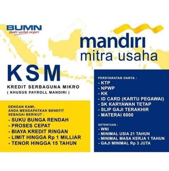 KSM Bank Mandiri Bandung