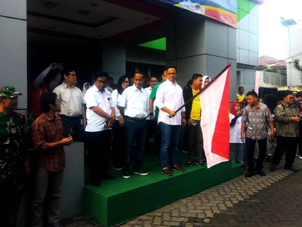 Anies Harap Warga Ucapkan: Untung Tinggal di Jakarta