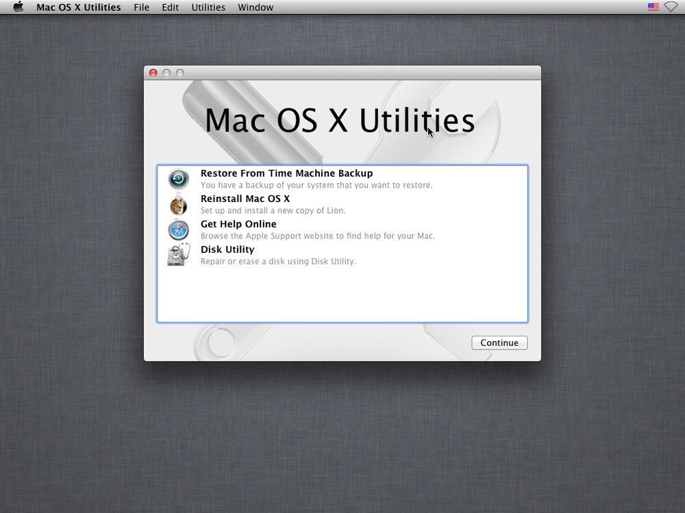 Install Ulang iMac yang sudah terformat dengan USB Bootable