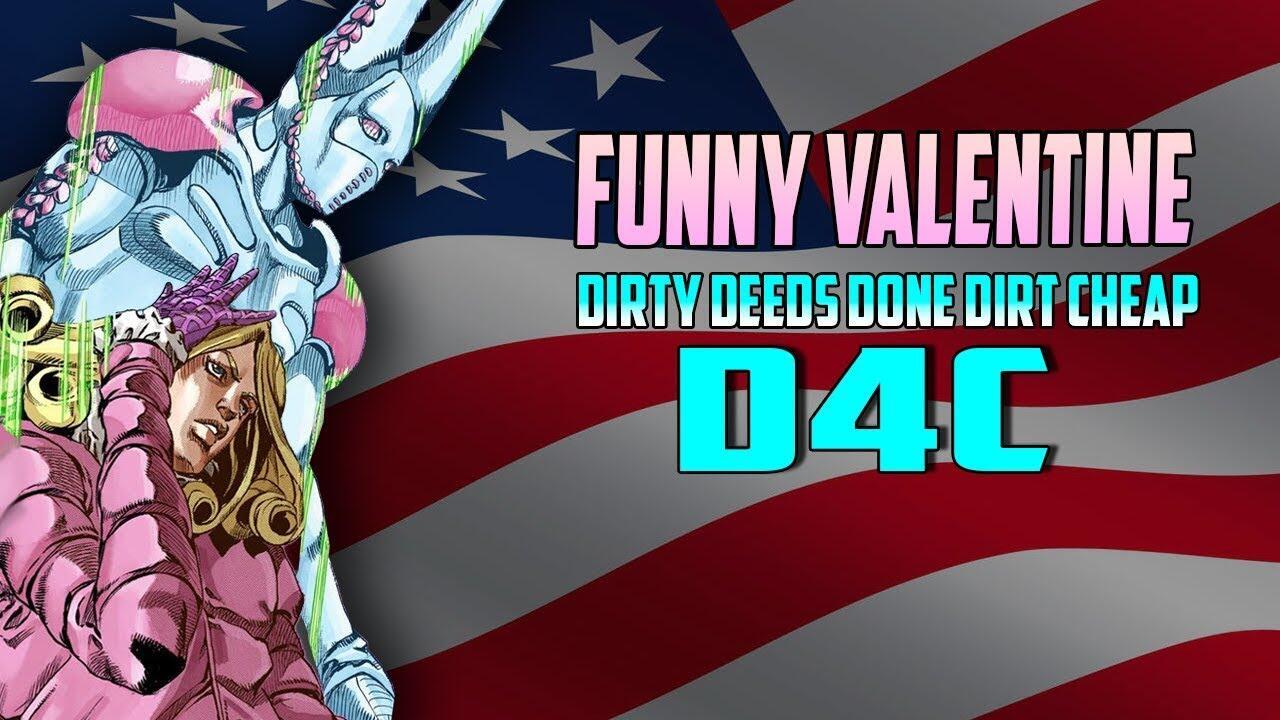 Presiden Amerika Pengguna Stand, Funny Valentine, STEEL BALL RUN