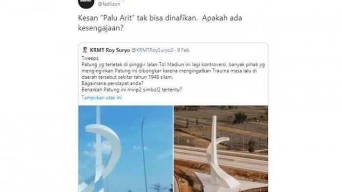 Isu Palu Arit Di Gerbang Tol Madiun, Bikin Heboh Netizen. Awas Adu Domba Gan!