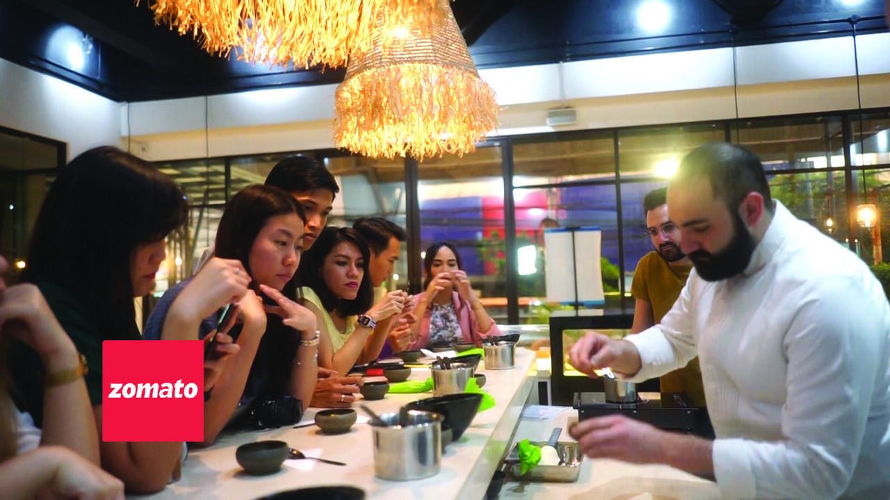 """Asik! #ZomatoClass Ajak Foodies Belajar Membuat """"Sorbet"""""""