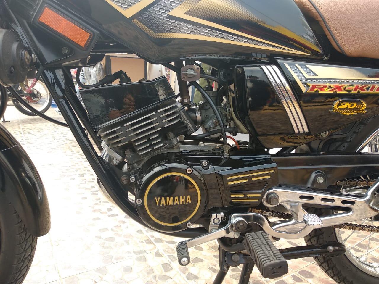 Ada Ya Maling Seperti Ini, Yamaha RX King Ini Jadi Korban Tapi Mesin Aja Yang Dicuri