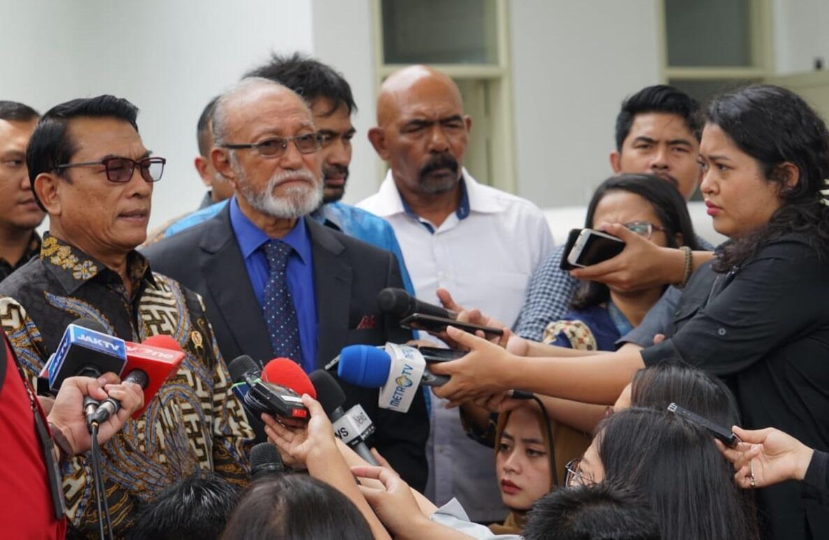 Presiden Tunjuk Moeldoko Selesaikan Persoalan Aceh