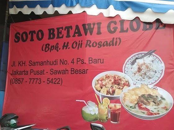 5 Soto Betawi Favorit di Jakarta