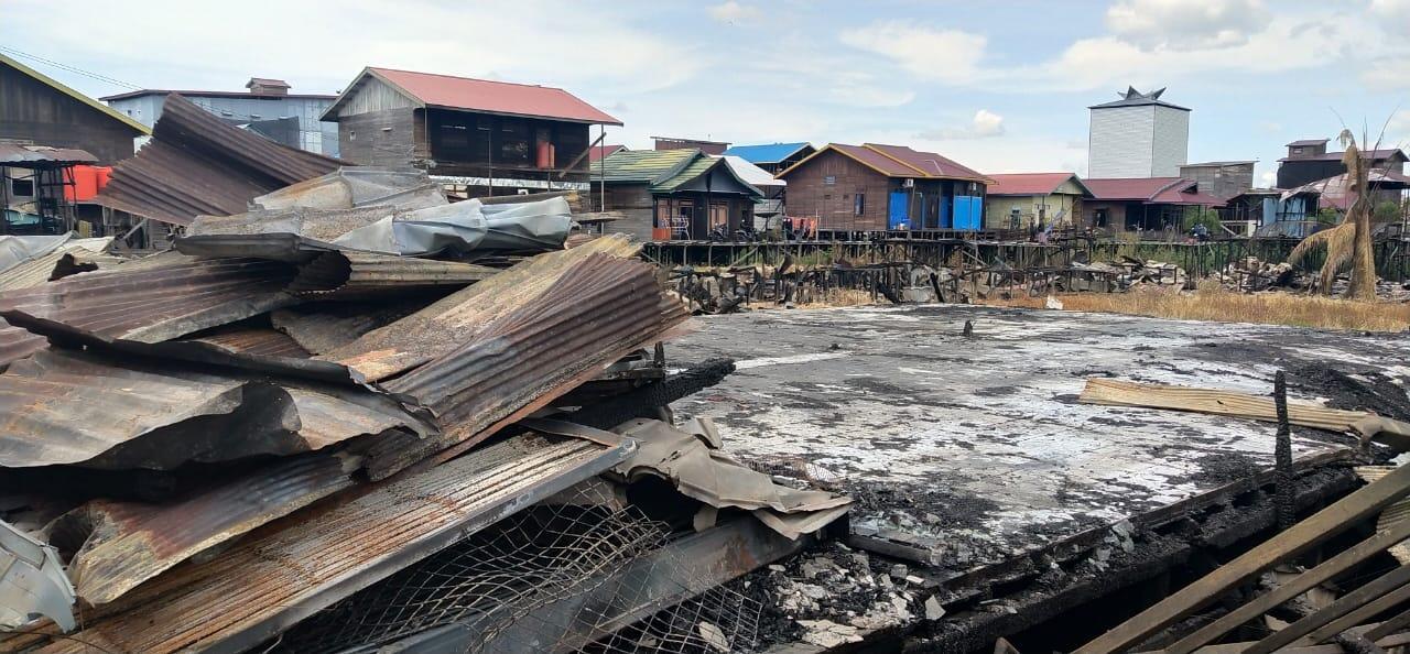 Saat Si Jago Merah Merampas Tempat Pengajian Ratusan Anak di Kukar