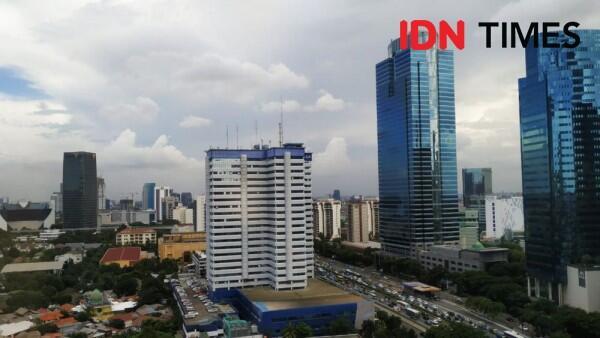 [PRAKIRAAN CUACA] Sebagian Area Jakarta akan Diguyur Hujan Siang Ini