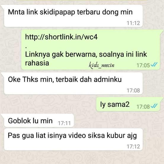10 Chat WhatsApp Tergokil Dijamin Auto Ngakak